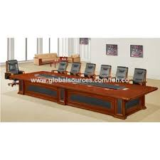 Office Furniture Meeting Table China Luxury Office Furniture Solid Wood Board Room Conference