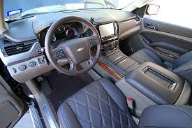 Chevy Tahoe 2014 Interior This 2015 Chevy Tahoe Is A Beauty And A Beast