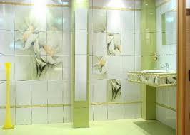 tile designs for bathrooms flower green bathroom tiles ideas decor crave
