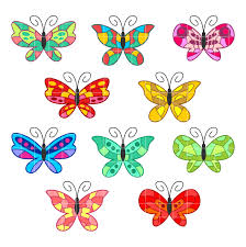 butterflies colorful butterfly designs clipart clipartfest clipartix
