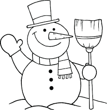 snowman coloring pages pdf frosty the snowman coloring images about frosty the snowman on