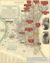 Philadelphia Neighborhood Map Nativist Riots Of 1844 Encyclopedia Of Greater Philadelphia