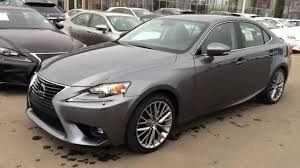 youtube lexus is f sport new grey on black 2015 lexus is 250 4dr sport sdn auto awd luxury