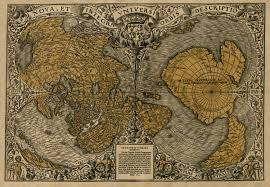 Antartica Map The Orontius Finaeus Map Bad Archaeology