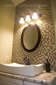tropical bathroom glass tile design pictures remodel decor and