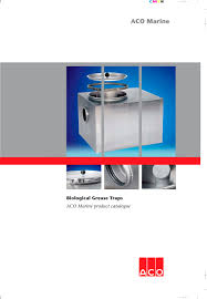 aco marine biological grease traps aco marine pdf catalogues