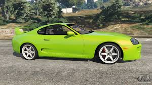 toyota supra side view toyota supra jza80 for gta 5