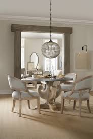 48 In Round Dining Table Hooker Furniture Dining Room Boheme Ascension 48in Zinc Round