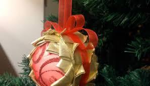 no sew ornaments using styrofoam sewn up
