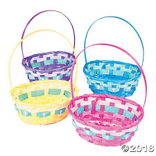 easter badkets easter baskets with cross