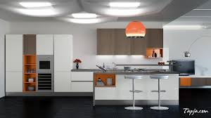 italian modern kitchen winsome italian modern kitchen design with orange pendant lamp
