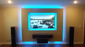 Tv Theater Walls Lights Home Audio Handyman Evans