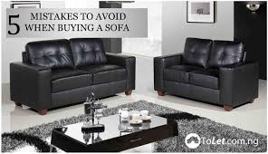 buying a sofa 5 mistakes to avoid when buying a new sofa tolet insider