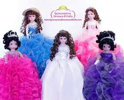 quinceanera dolls custom quinceanera dolls with dresses to match your dress only at