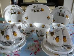 vintage tea set mix n match vintage teaset with violets and roses