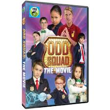 odd mazing news odd squad the movie is now available on dvd in