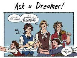 ask a dreamer a most awkward thanksgiving the dreamer