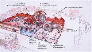 baths of caracalla floor plan baths of caracalla rome across europe