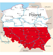 Blank Map Of Israel And Palestine by Poland Map With Cities Blank Outline Map Of Poland