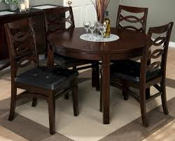 black wood dining room set cirque 8 piece 84x44 dining room set w
