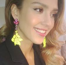 alba earrings alba style fashion and bright diamond mawi london