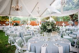 wedding reception decoration wedding ideas light blue and white outdoor reception decor