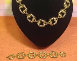 large gold link necklace images Large link necklace etsy jpg