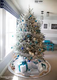 Blue And Silver Christmas Tree - christmas blue and silver christmas tree 11299623346 ac6cac3a9c