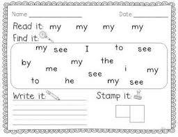 86 best kindergarten worksheets images on pinterest