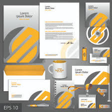 corporate identity template vector free vector download 13 435