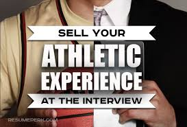 How To Present Resume At Interview 9 Ways To Present Athletic Experience During The Interview