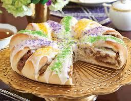 king cake for mardi gras mardi gras king cake teatime magazine