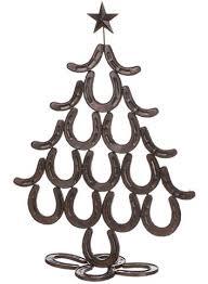horseshoe christmas ornaments pole west the original cowboy christmas store pole