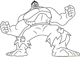 hulk green monster coloring free hulk coloring pages