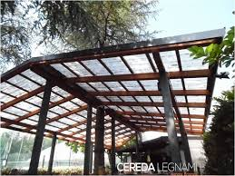 tettoia ferro battuto copertura terrazzo in legno unico tettoie tettoie in ferro battuto