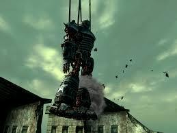Liberty Prime Meme - image liberty prime hoist crash jpg fallout wiki fandom