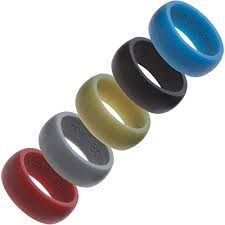 silicone wedding bands silicone wedding ring 5 pack by country bound premium quality