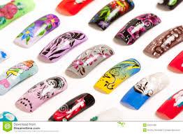 nail art handmade stock photo image 53221686