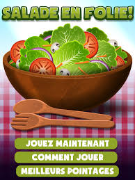 jeux de cuisine salade défi des p chefs jeux
