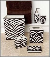 37 best zebra print bathroom accessories images on pinterest