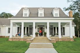 southern home decor southern living house plans one story