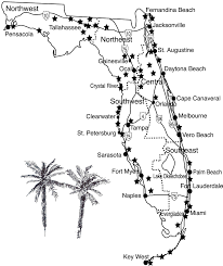 Hobe Sound Florida Map by 50 Great Walks In Florida Lucy Tobias