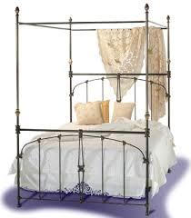 Iron Canopy Bed Brass Beds Of Virginia U003cbr U003e Juliette Iron Canopy Bed