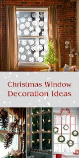christmas window decorations 10 bright and sparkling christmas window decoration ideas