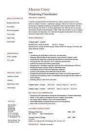 Resume For Marketing Job Sample Production Manager Resume Writing Acknowledgements For Phd