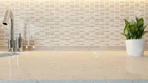 fonds de cuisine céramique blanche moderne fond de conception de cuisine en marbre de