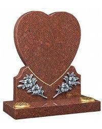 prices of headstones flakirk heart shaped headstone mackay s memorial headstones