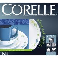 Corelle Dinnerware At Walmart Corelle Secret Garden Essential Series 30 Pcs Dinner Set By