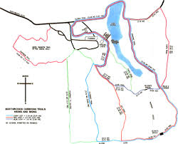 Iron Mountain Michigan Map by Skinnyski Com Ski Trails