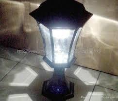 Led Pedestal Light Solar Energy Lamp Garden Pedestal Bollard Led Light Aluminum Wall
